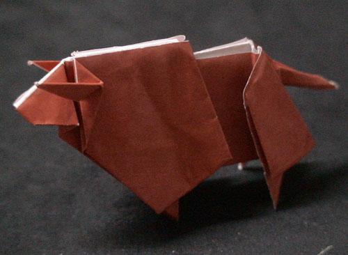 折り紙の:ピカチュウ 折り紙 折り方-divulgando.net